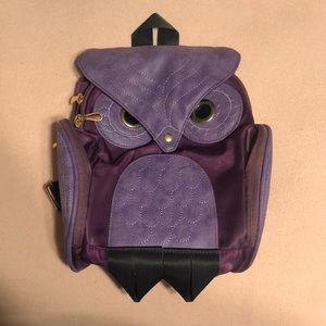 Owl back pack PINK or PURPLE
